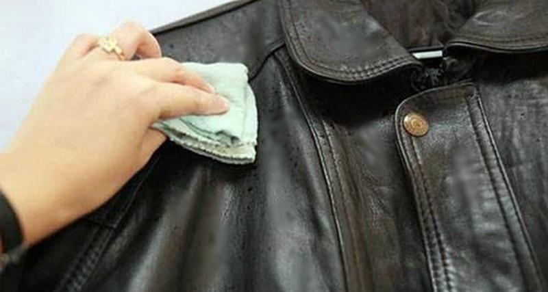 manutenção de roupas de couro
