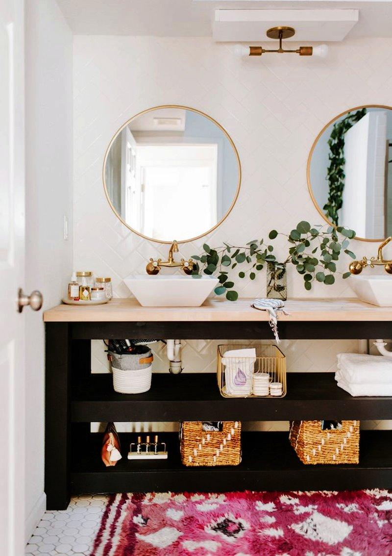 Como manter o banheiro organizado gastando pouco