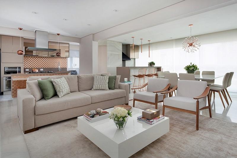 Apartamento grande integrado