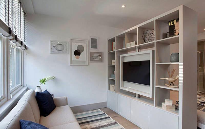 uma só tv para quarto e sala