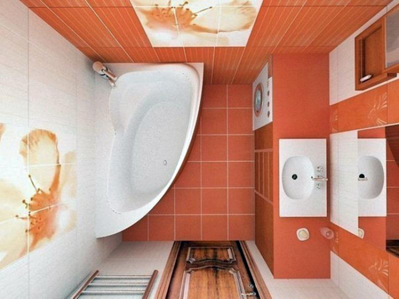 ambientes multifuncionais - maquina de lavar no banheiro pequeno