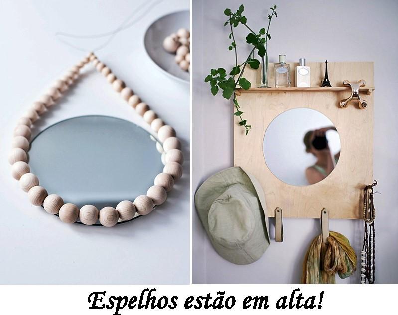 espelhos decoração