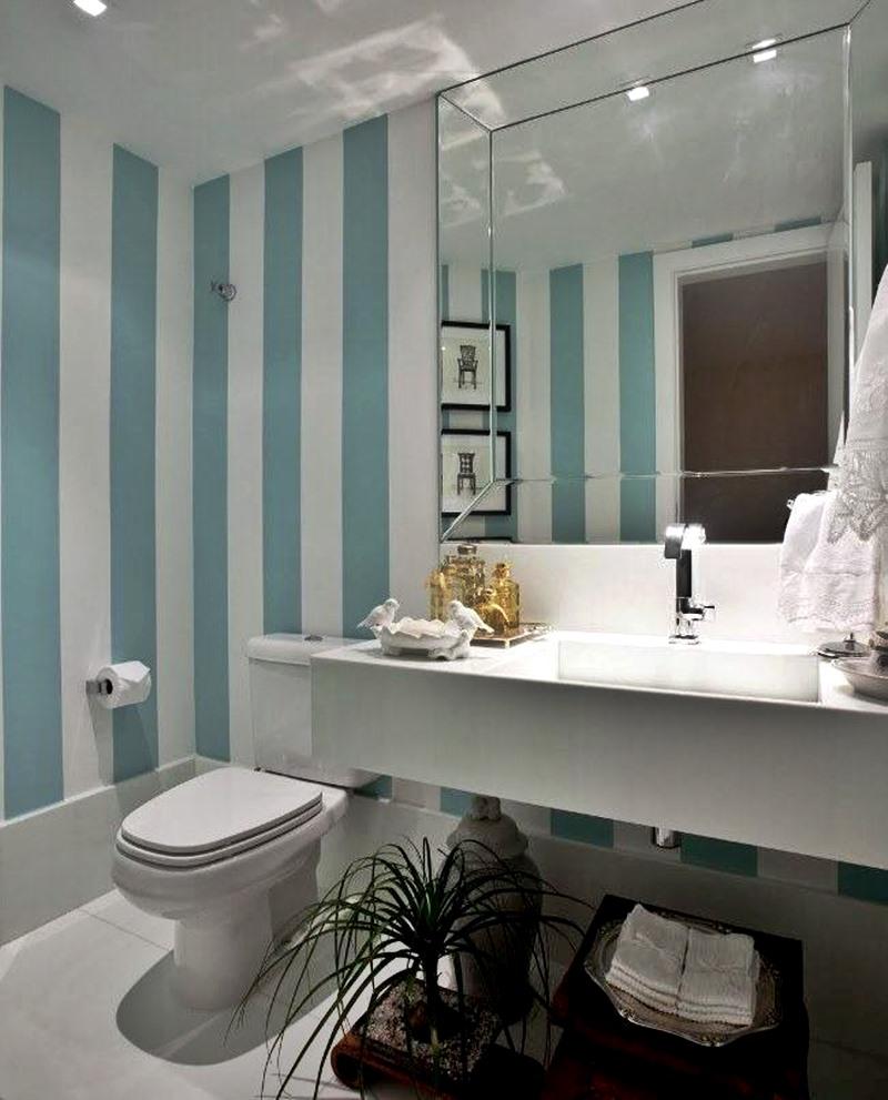 lavabo pequeno em estilo clássico