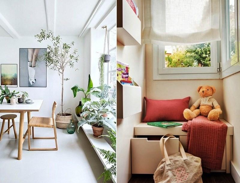 aproveitar espaço embaixo das janelas