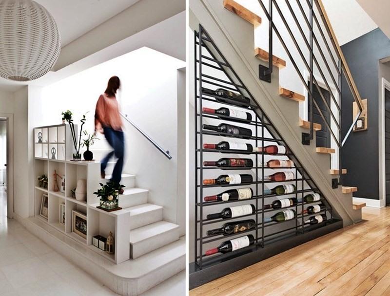 aproveitar espaço nas escadas