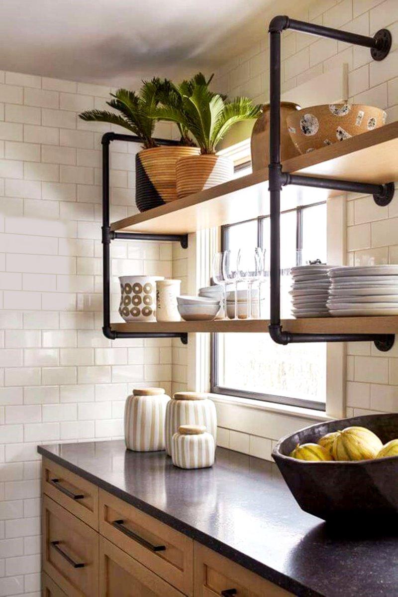 aproveitando os espaços da cozinha pequena