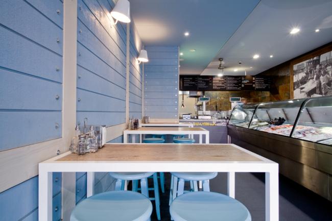 Decoraç u00e3o em Bar e Restaurante Simples Decoracao Simples Decoraç u00e3o -> Decoração De Lanchonete Pequena E Simples