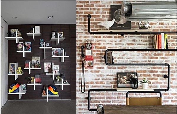 Mais 14 Ideias Para Mudar A Casa Decorando As Paredes Simples