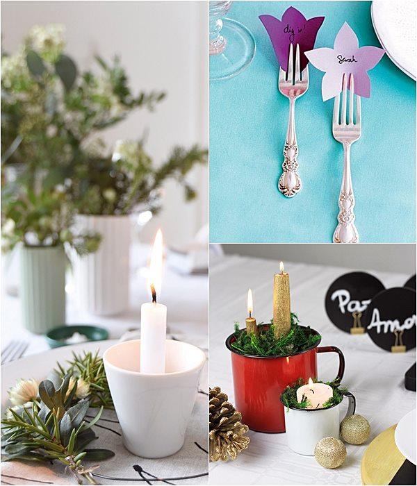 30 Ideias para a Ceia de Natal Simples Decoracao Simples Decoraç u00e3o -> Decoração Ceia De Natal Simples