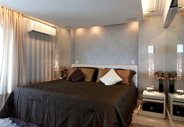 Resultado de imagem para quarto de casal iluminação