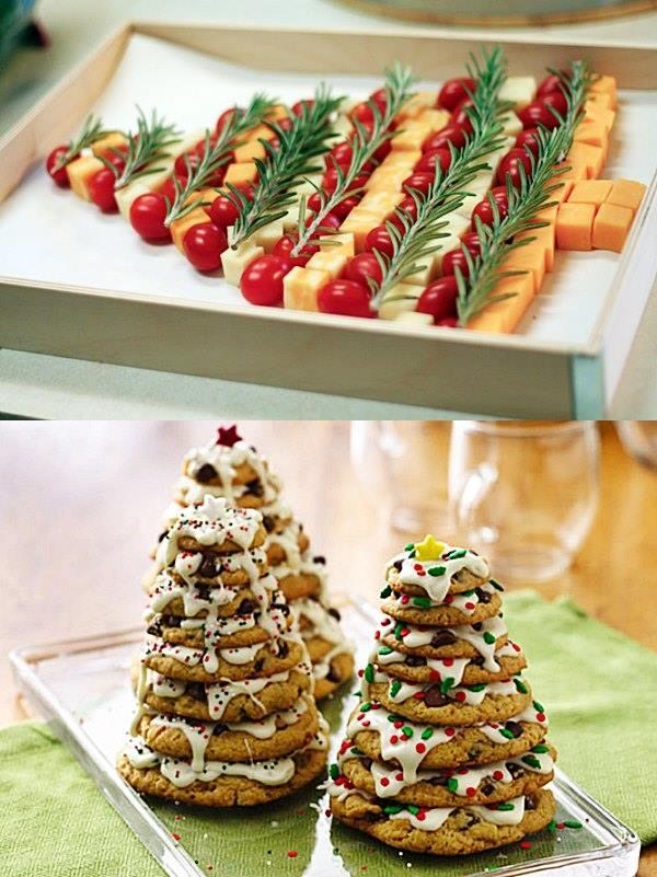 Mais ideias para a decoraç u00e3o da mesa de Natal e Ano Novo Simples Decoracao Simples Decoraç u00e3o -> Decoração De Natal Para Mesa Quadrada