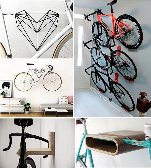 dd7d5517e 22 ideias para colocar a bicicleta na parede