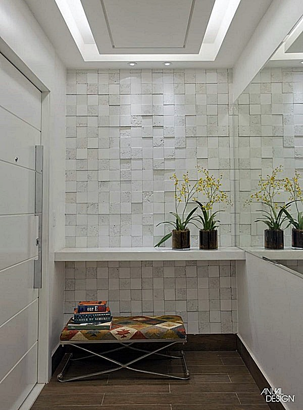 Como decorar o pequeno hall de entrada de elevador Simples Decoracao Simples Decoraç u00e3o -> Como Decorar Hall De Entrada De Elevador