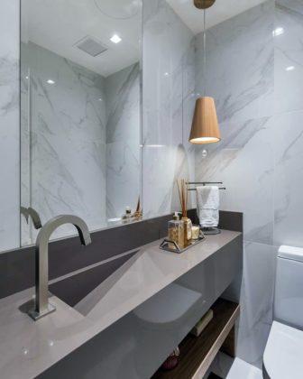 Tendências nos banheiros e lavabos 2020